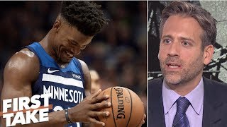 Trade for Jimmy Butler won't help 76ers 'make noise' in playoffs - Max Kellerman | First Take