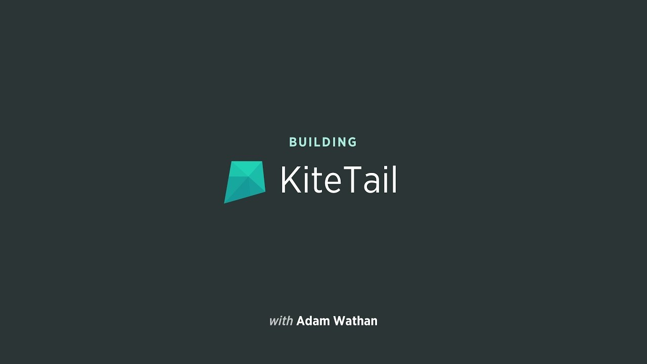 Building KiteTail #10: Building the Dashboard Template
