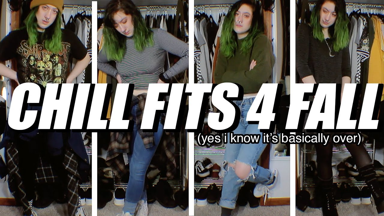 [VIDEO] - a half-thrifted, super casual fall lookbook 6