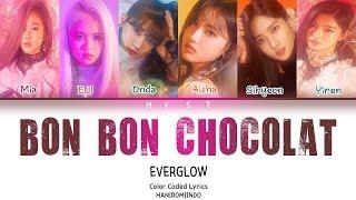 EVERGLOW - BON BON CHOCOLAT Lirik Terjemahan Indonesia