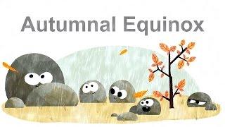 Autumnal Equinox - Φθινοπωρινή ισημερία - Équinoxe d'automne 2016 (Google Doodle)