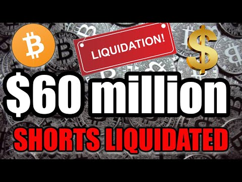 BITCOIN SHORTS LIQUIDATED $60 Million In 10 Minutes! WHAT DOES THIS MEAN FOR BTC?