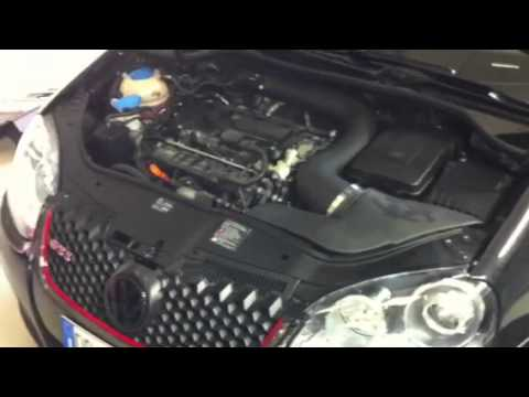 BRS Motorsport - Test - Kit aspirazione diretta Volant (Air Intake System) per VW Golf GTI 5 ...