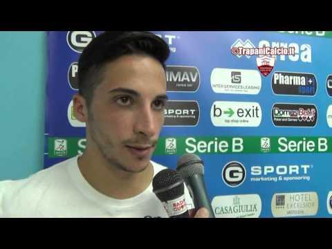 Pescara-Trapani 0-0. Marcone, Scozzarella e Faggiano dopo la gara 30.08.14 ©TrapaniCalcio.it