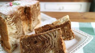 珈琲マーブルシフォンケーキ|cook kafemaruさんのレシピ書き起こし