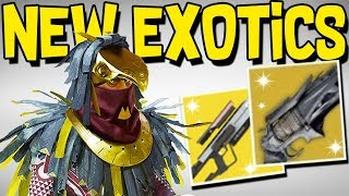Destiny 2: NEW VEX EXOTICS & RAID! New Exotics, Thorn & Jade Rabbit Return, & Old Planets