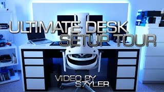 Ultimate Office & Desk Setup Tour (Full 5min Version 1.0 2016) // by s7yler