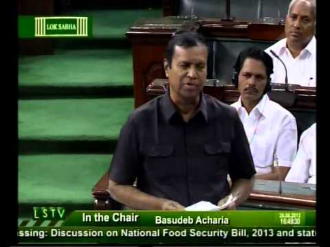 Speech made by T.R.Baalu M.P. in Parliament Today (26-08-2013) - about Food Security Bill - 2013