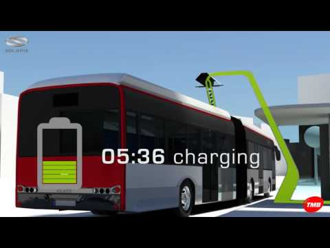 Articulated buses Solaris E18 for the ZeEUS Demo in Barcelona