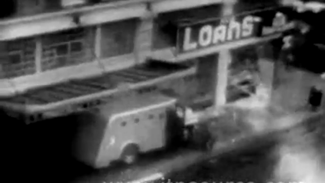 Download Vintage San Diego Police Standoff with Suspected Killer April 10 1965