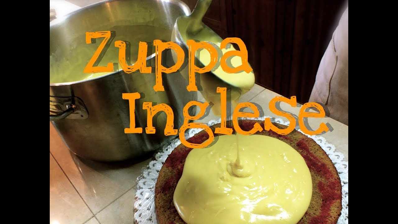 Torta Zuppa Inglese Fatta In Casa Da Benedetta Homemade Trifle
