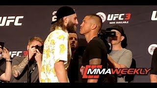 UFC 226 Ultimate Media Day Face-Offs
