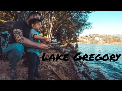 Lake Gregory - Father And Son First Time Fishing - 52 Hike Challenge - (16/52)