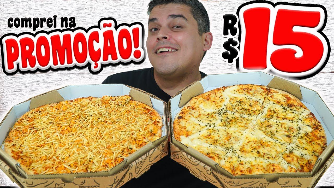 PIZZA DE 15 REAIS - Comprei na Promoção!