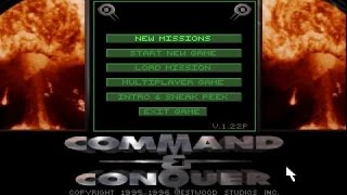 Command & Conquer gameplay (PC Game, 1995)