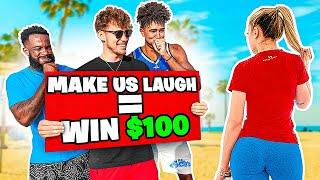 Make 2HYPE Laugh, Win $100 at Venice Beach!