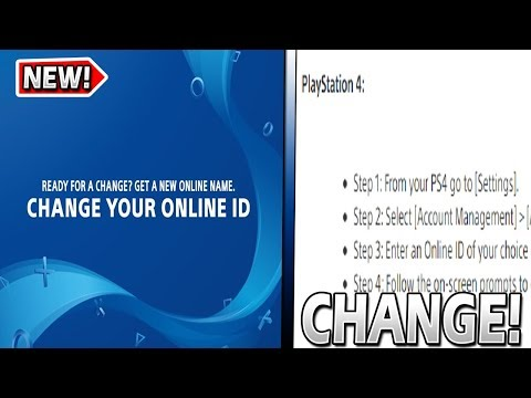 How To OFFICIALLY CHANGE Your PSN ID (Name)! *Full Tutorial*