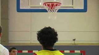 GUINNESS WORLD RECORD HOLDER 3 point shooter  593 in 1 hour go in  behind the NBA LINE