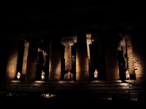 """Rassegna teatrale estiva """"...dal Mito a + ∞"""" 2017 - Accademia Magna Graecia - Sarah Falanga"""