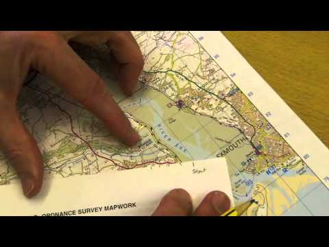 Measuring distance on OS maps