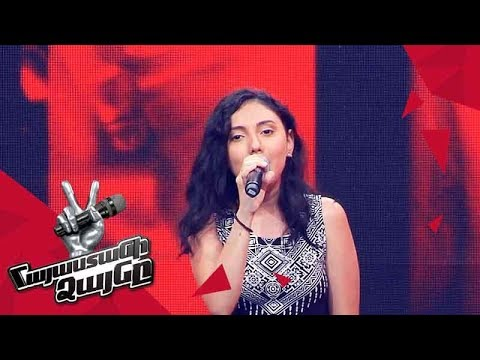Sona Gyulkhasyan sings 'This World' - Blind Auditions - The Voice of Armenia - Season 4