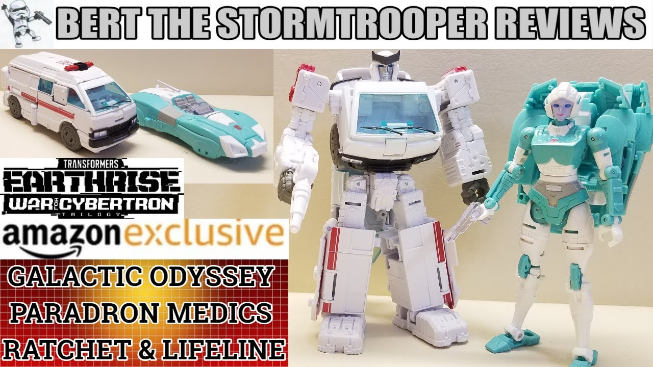 Earthrise RATCHET & LIFELINE Paradron Medics Galactic Odyssey Collection Review by Bert the Stormtrooper!