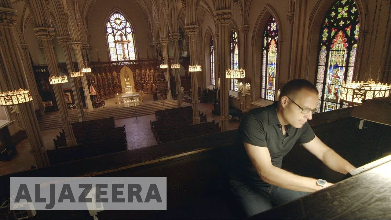 New York cathedral struggles to save the oldest US organ