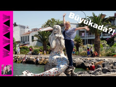 WOW! Istanbul Turkey's Vacation Islands - Cars are BANNED! (Büyükada)