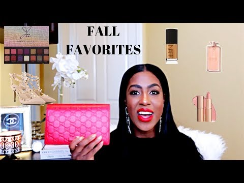 *NEW* CURRENT FALL FAVORITES| SKIN CARE| HAIR CARE UPDATE|MAKEUP| FALL FRAGRANCE thumbnail