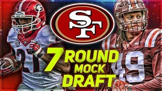SAN FRANCISCO 49ERS 2018 MOCK DRAFT | Niners Draft 2 STEALS
