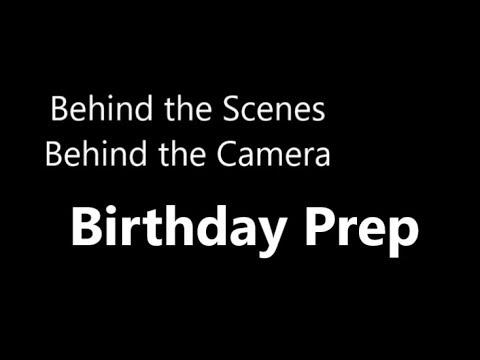 BTS of Birthday Prep  10.15.18 day1937