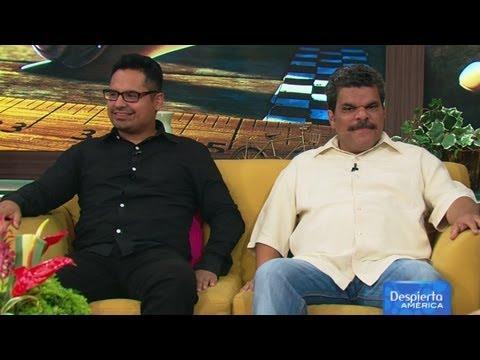 Luis Guzmán y Michael Peña, anécdotas y sacrificios de la película Turbo  Despierta América