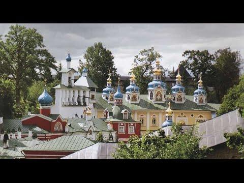 Псково-Печерская Обитель - Monastero delle grotte di Pskov (ITA)