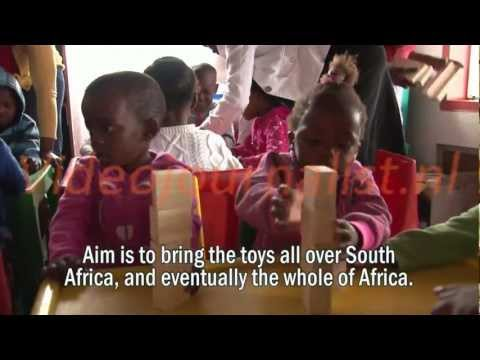 SOUTH AFRICA: innovative toys to stimulate child development