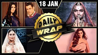 Salman Katrina, Dabboo Ratnani Calendar Launch, Kareena Kapoor Grab Headlines | 18 Jan | Daily Wrap
