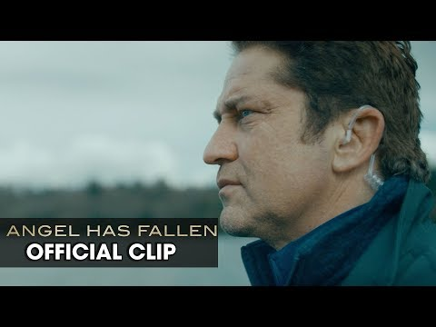 """Angel Has Fallen (2019 Movie) Official Clip """"Drones"""" — Gerard Butler, Morgan Freeman"""