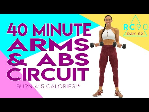 40-minute-arms-and-abs-circuit-workout-🔥burn-415-calories!*-🔥day-52-|-rc90
