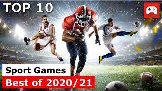 Top 10 | Bęst Sports Games | 2020 & 2021 | PC, PS4, PS5, xBox One, xBox Serias X