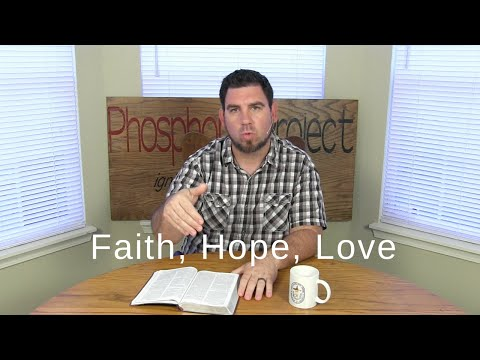 Faith, Hope, Love | 1 Corinthians 13:13 | One Verse Daily Devotional