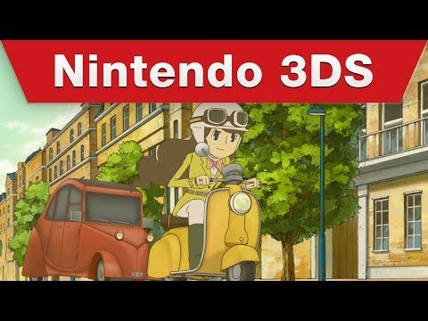 Save Nintendo 3DS - Professor Layton and the Azran Legacy -- Emmy's Story Pics