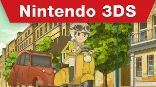 Nintendo 3DS - Professor Layton and the Azran Legacy -- Emmy's Story