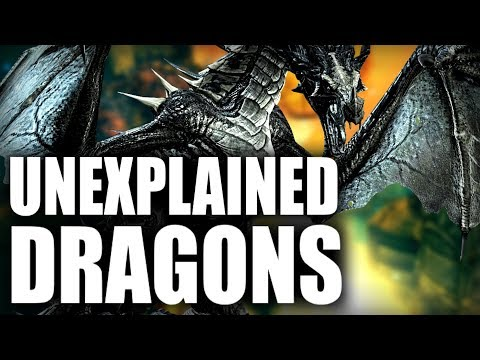 Skyrim - The Two Unexplained Dragons - Elder Scrolls Lore