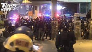 831港人再上街 警出動水砲車驅離示威者LIVE