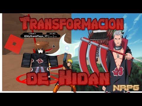 TRANSFORMACION DE HIDAN,NUEVOS NINJUTSUS Y RASHOMON! | Roblox:NRPG Beyond Español | ElMylhamPlays