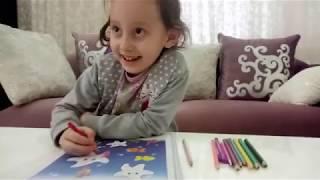Çizgi çalışması Yapıyoruz...Eğlenceli Çocuk Videosu