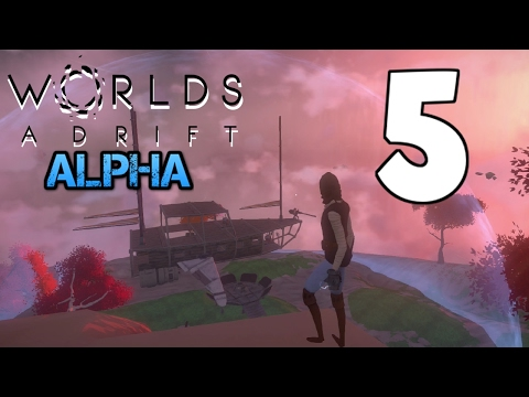 Island Exploration and Ship Repairs - Worlds Adrift Alpha - Part 5