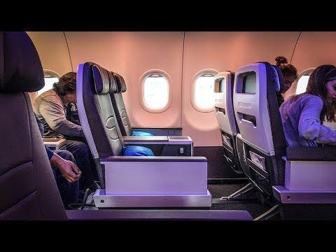 SO good!! Hawaiian Airlines A321neo first class SAN-OGG
