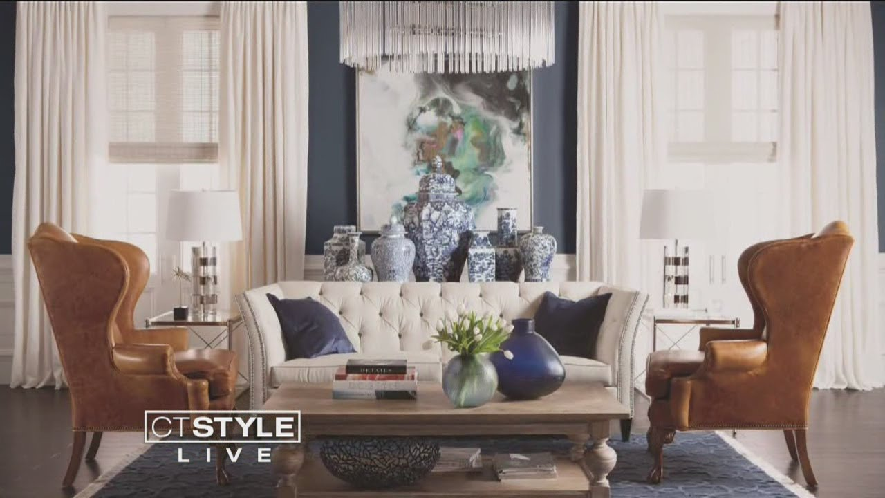 Ethan Allen Design Tip: Use Your Sofa As The Canvas
