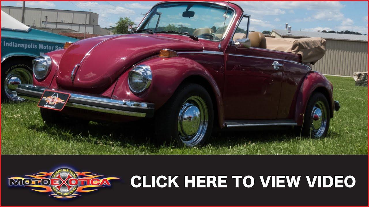 1979 Volkswagen Beetle Convertible (SOLD) - YouTube