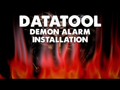 270. DataTool Demon Alarm Installation - YouTube on